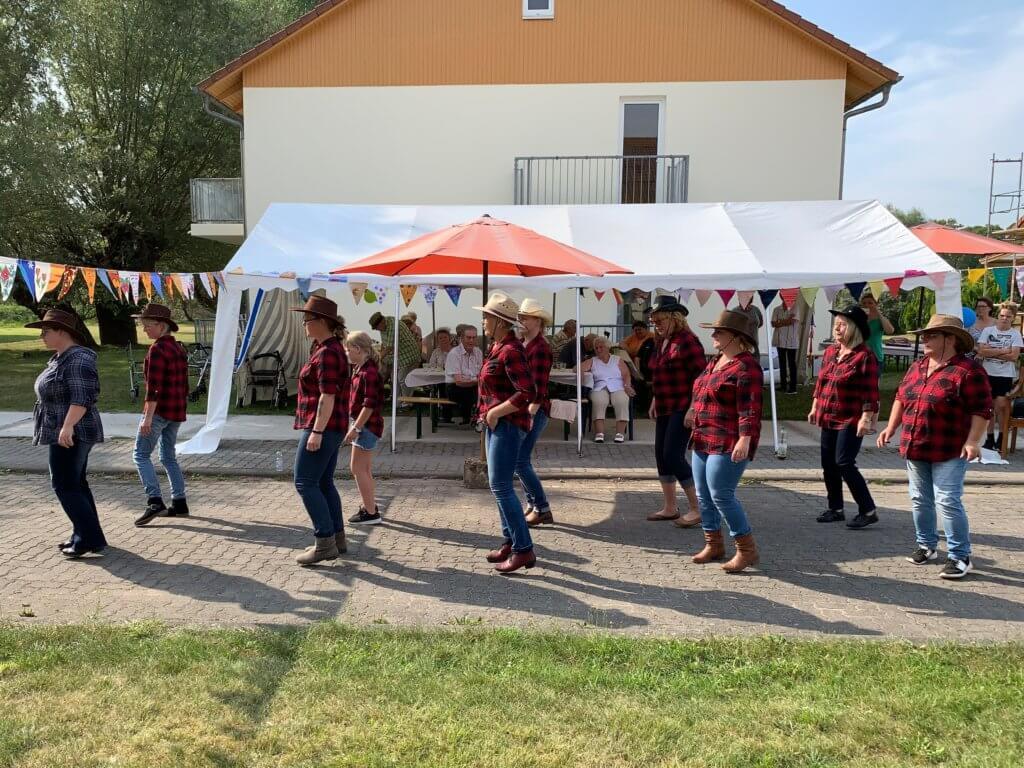 Sommerfest im Seniorenwohnpark Jürgenshagen
